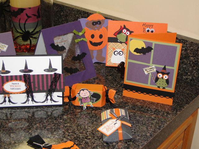 Halloween display 2